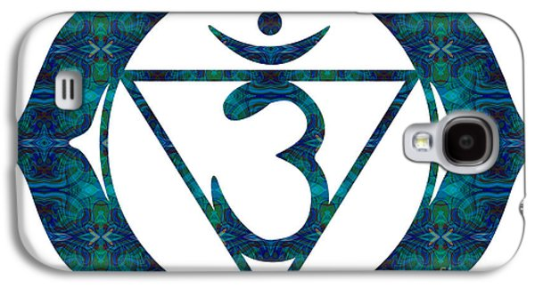 Inner Self Galaxy S4 Cases - Anja Abstract Chakra Art by Omaste Witkowski Galaxy S4 Case by Omaste Witkowski