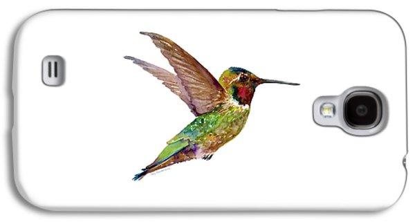 Anna Hummingbird Galaxy S4 Case by Amy Kirkpatrick