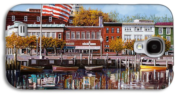 Americans Galaxy S4 Cases - Annapolis Galaxy S4 Case by Guido Borelli