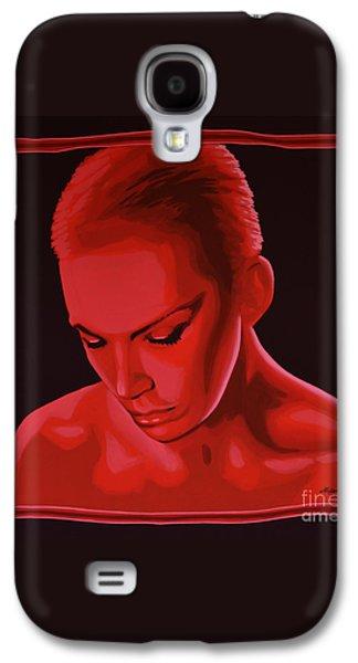 Annie Lennox Galaxy S4 Case by Paul Meijering