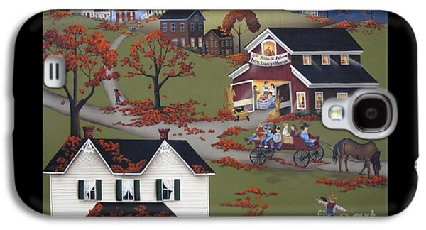 Annual Barn Dance And Hayride Galaxy S4 Case by Catherine Holman