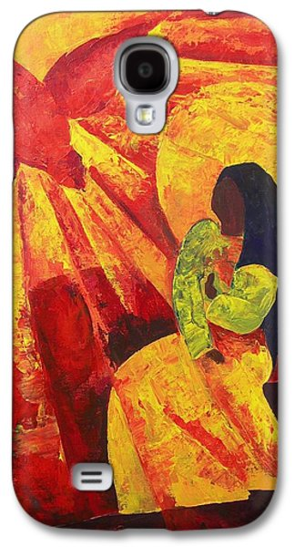 Religious Galaxy S4 Cases - Annunciation Galaxy S4 Case by Patricia Brintle