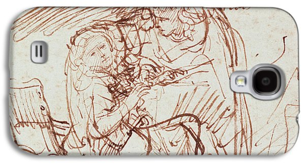 Annunciation  Galaxy S4 Case by Rembrandt Harmenszoon van Rijn