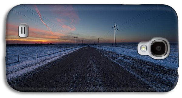 35mm Galaxy S4 Cases - another Cold Road to Nowhere Galaxy S4 Case by Aaron J Groen