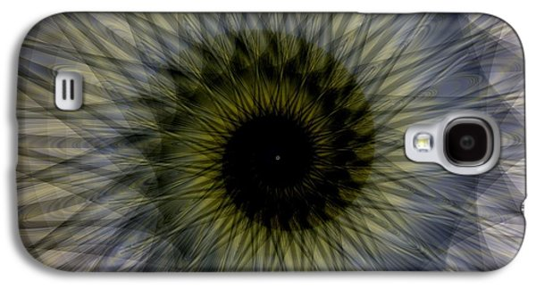 Fractal Image Galaxy S4 Cases - Another Spiral  Galaxy S4 Case by Elizabeth McTaggart