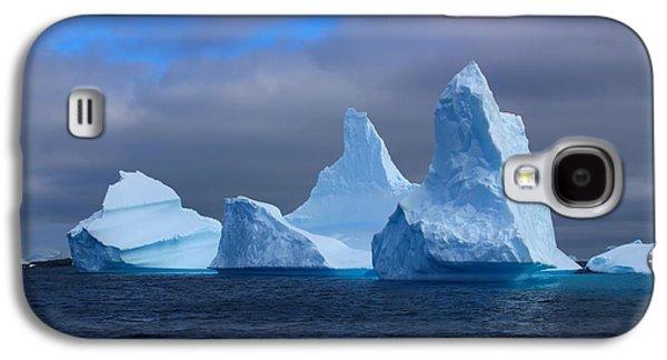 Studio Photographs Galaxy S4 Cases - Antarctic Iceberg 3 Galaxy S4 Case by FireFlux Studios