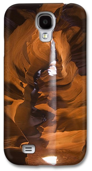 Holes In Sandstone Galaxy S4 Cases - Antelope Canyon A Narrow Canyon Carved Galaxy S4 Case by Brian Guzzetti
