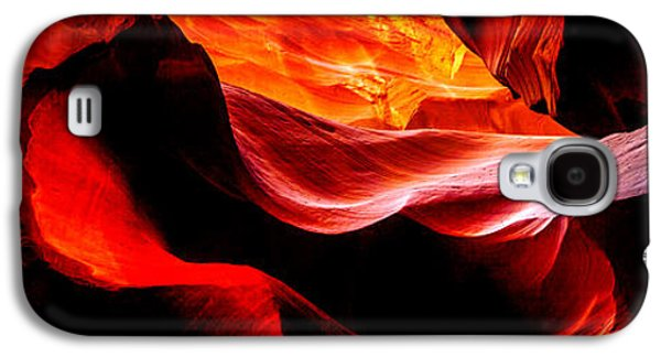 Sun Galaxy S4 Cases - Antelope Canyon Rock Wave Galaxy S4 Case by Az Jackson