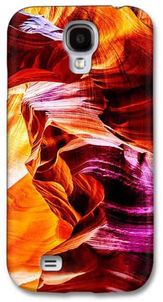 Sun Galaxy S4 Cases - Antelope Canyon Tour Galaxy S4 Case by Az Jackson