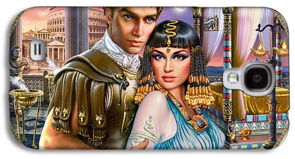 Anthony And Cleopatra Galaxy S4 Case by Andrew Farley