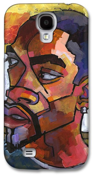 Black Man Galaxy S4 Cases - Anthony Waiting in the Car Galaxy S4 Case by Douglas Simonson