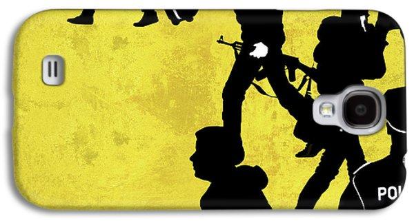 Anti-terrorism Police Galaxy S4 Case by Smetek