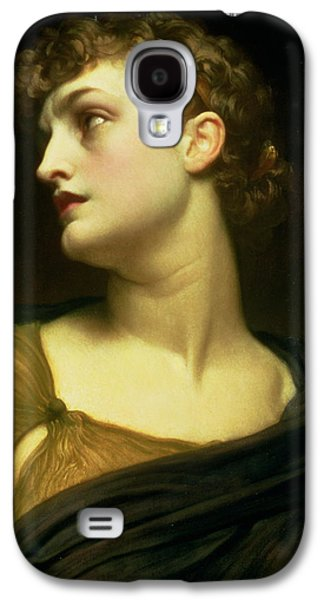 Character Portraits Paintings Galaxy S4 Cases - Antigone Galaxy S4 Case by Frederic Leighton