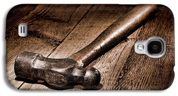 Hammer Galaxy S4 Cases - Antique Blacksmith Hammer Galaxy S4 Case by Olivier Le Queinec