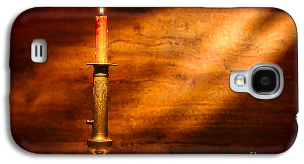 Artisan Galaxy S4 Cases - Antique Candlestick Galaxy S4 Case by Olivier Le Queinec