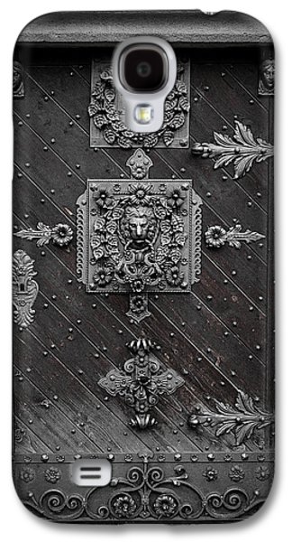 Budvar Galaxy S4 Cases - Antique doors in Budweis Galaxy S4 Case by Christine Till
