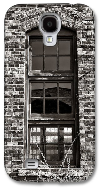 Warehouse Galaxy S4 Cases - Antique Factory Window Galaxy S4 Case by Olivier Le Queinec