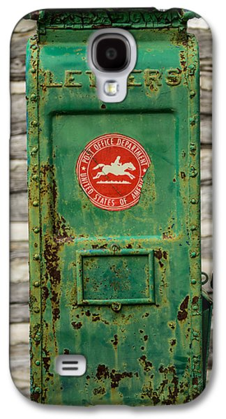 Mail Box Galaxy S4 Cases - Antique Mailbox Galaxy S4 Case by Paul Freidlund
