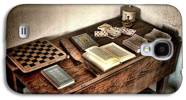 Historic Home Galaxy S4 Cases - Antique Play Desk Galaxy S4 Case by Olivier Le Queinec