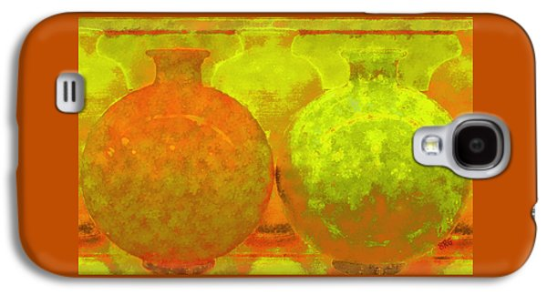 Ben Gertsberg Digital Art Galaxy S4 Cases - Antique Vases Galaxy S4 Case by Ben and Raisa Gertsberg