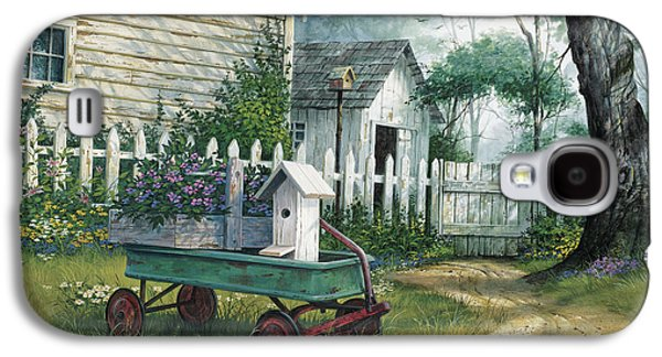 Antique Wagon Galaxy S4 Case by Michael Humphries