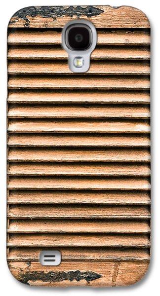 Antique Wooden Shutter Galaxy S4 Case by Tom Gowanlock