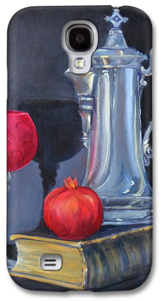 Old Pitcher Paintings Galaxy S4 Cases - Antiquities Galaxy S4 Case by Carla Parris