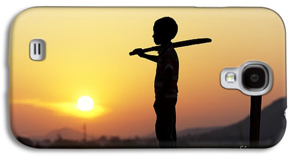 Setting Sun Galaxy S4 Cases - Any One for Cricket Galaxy S4 Case by Tim Gainey