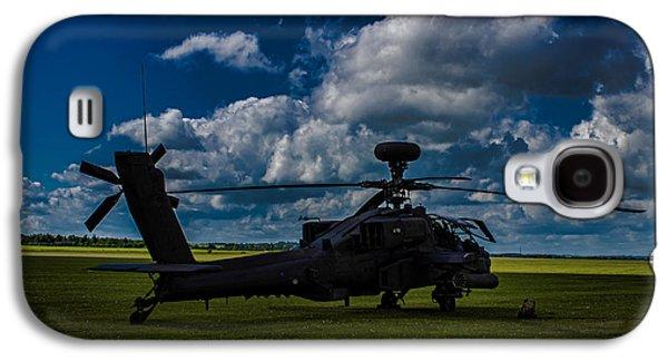 Apache Gun Ship Galaxy S4 Case by Martin Newman