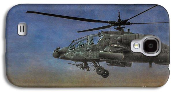 Iraq Prints Galaxy S4 Cases - Apache Morning Patrol Galaxy S4 Case by Randy Steele
