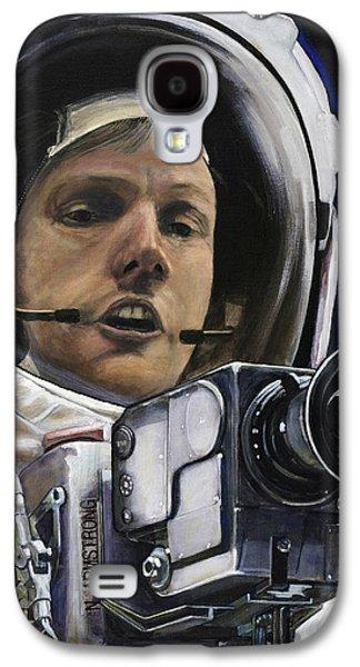 Apollo- For Mankind Galaxy S4 Case by Simon Kregar