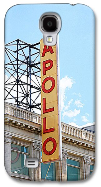 Apollo Theater Sign Galaxy S4 Case by Valentino Visentini