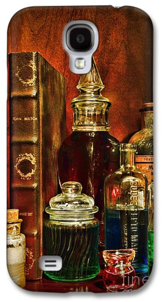 Old Grinders Galaxy S4 Cases - Apothecary - Vintage Jars and Potions Galaxy S4 Case by Paul Ward