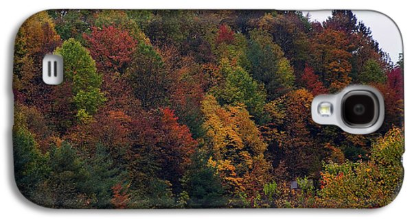 Landscape Posters Galaxy S4 Cases - Appalachian mountain fall Galaxy S4 Case by Chris Flees