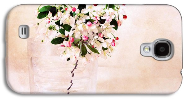 Apple Trees Galaxy S4 Cases - Apple Blossom Still Life Galaxy S4 Case by Jessica Jenney