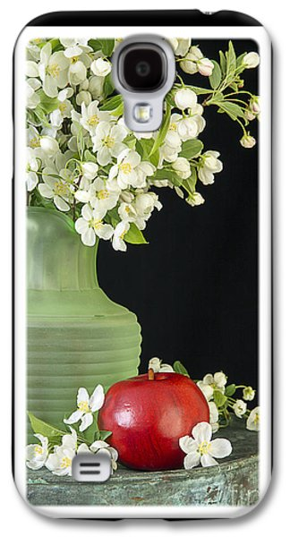 Apple Photographs Galaxy S4 Cases - Apple Blossoms Card Galaxy S4 Case by Edward Fielding