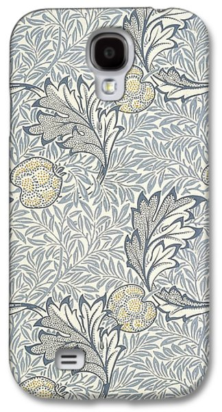 Food And Beverage Tapestries - Textiles Galaxy S4 Cases - Apple Design 1877 Galaxy S4 Case by William Morris