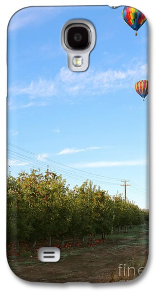 Yakima Valley Galaxy S4 Cases - Apple Trees and Balloons Galaxy S4 Case by Carol Groenen