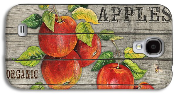 Locally Grown Galaxy S4 Cases - Apples-JP2674 Galaxy S4 Case by Jean Plout