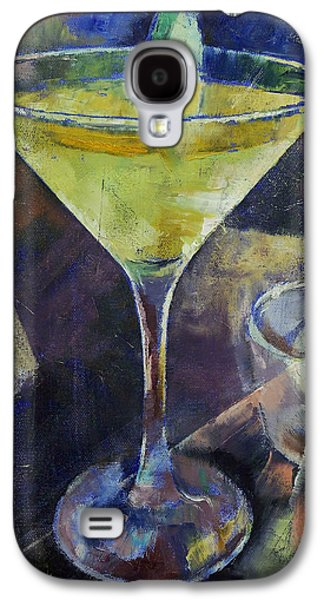 Cosmos Paintings Galaxy S4 Cases - Appletini Galaxy S4 Case by Michael Creese