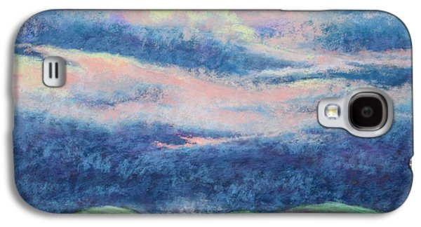 Storm Pastels Galaxy S4 Cases - Approaching Storm Galaxy S4 Case by Nancy Jolley