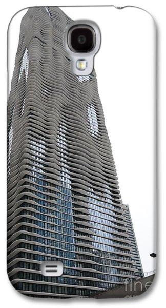 Aqua Condominiums Galaxy S4 Cases - Aqua - 4 Galaxy S4 Case by David Bearden