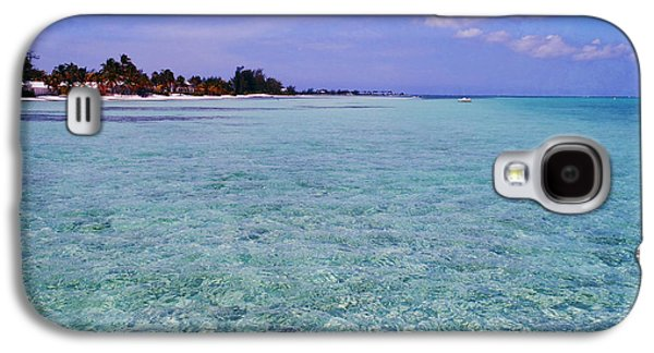 Miami Photographs Galaxy S4 Cases - Aqua Blue Galaxy S4 Case by Carey Chen