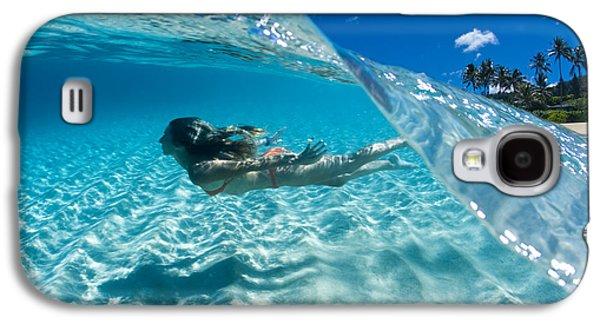 Surrealism Photographs Galaxy S4 Cases - Aqua Dive Galaxy S4 Case by Sean Davey