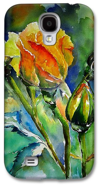 Limited Galaxy S4 Cases - Aquarelle Galaxy S4 Case by Elise Palmigiani