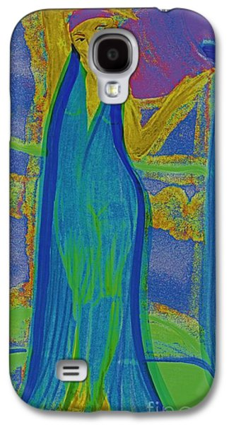 Constellations Drawings Galaxy S4 Cases - Aquarius by jrr Galaxy S4 Case by First Star Art