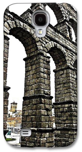 Spanien Galaxy S4 Cases - Aqueduct of Segovia - Spain Galaxy S4 Case by Juergen Weiss