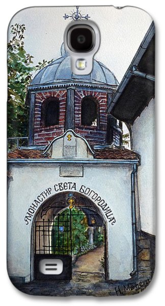 Orthodox Paintings Galaxy S4 Cases - Arbanasi Monastery St. Mother of God Bulgaria Galaxy S4 Case by Henrieta Maneva