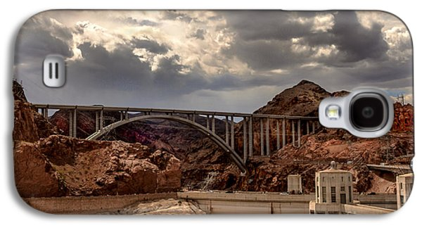 Haybale Galaxy S4 Cases - Arch Bridge and Hoover Dam Galaxy S4 Case by Robert Bales