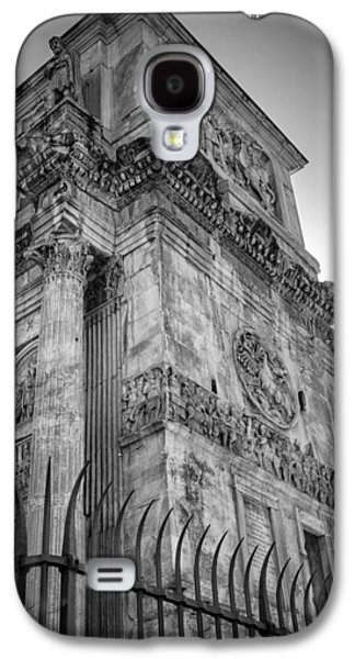Ancient Galaxy S4 Cases - Arch of Constantine Galaxy S4 Case by Joan Carroll
